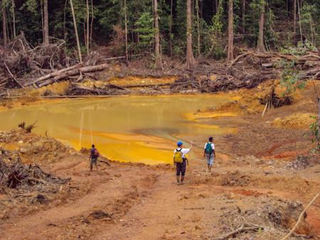 problematisk gruvdrift