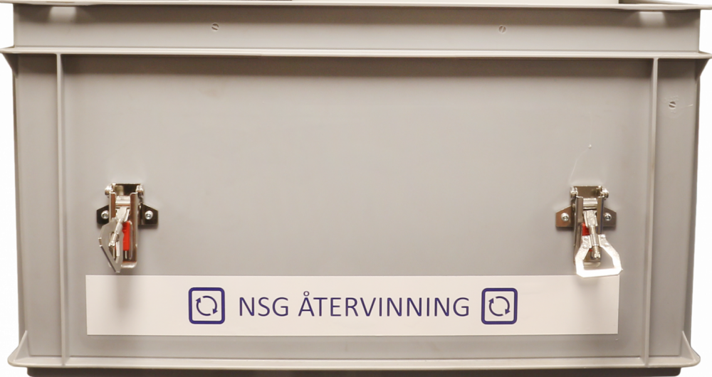 Recycling-box-Norsk Svensk Guld-
