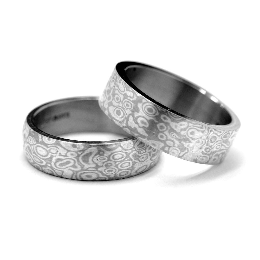 mokume-ring