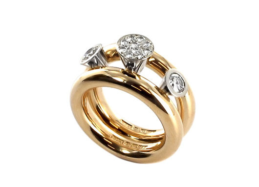 red gold-diamond-ring