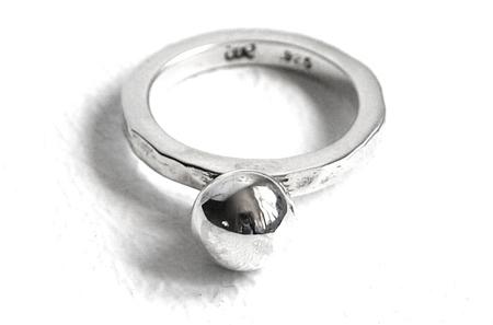 mila -silver -ring