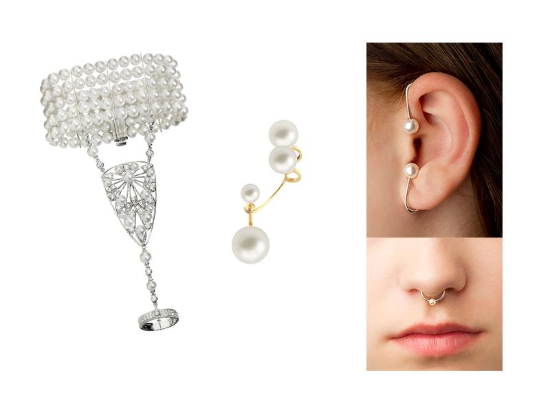 Pärlor-kropssmycken