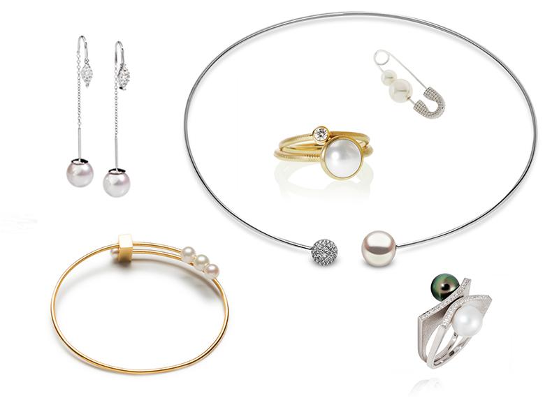 Pärlor-moderna-och-enkla-silhuetter
