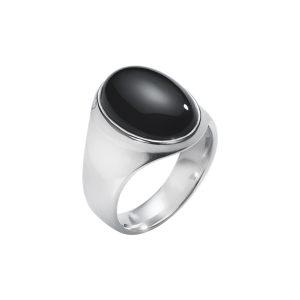 Ring-silver-svart-onyx-George-Jensen
