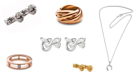 Smycken i kollage