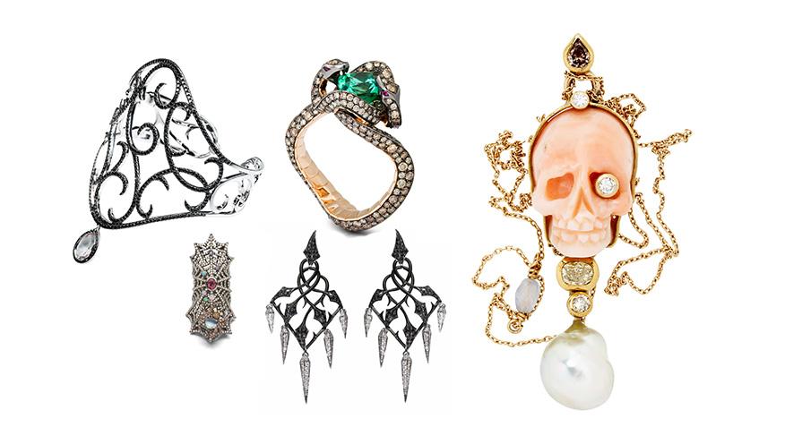 Smycken som är perfekta för Halloween