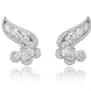 Örhängen med diamanter i olika slipningar och storlekar! Från Chopard