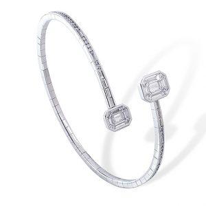 Armband från Stenzhorn i vitt guld med diamanter