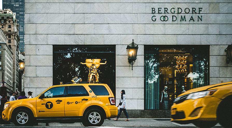 Bergdorf i New York