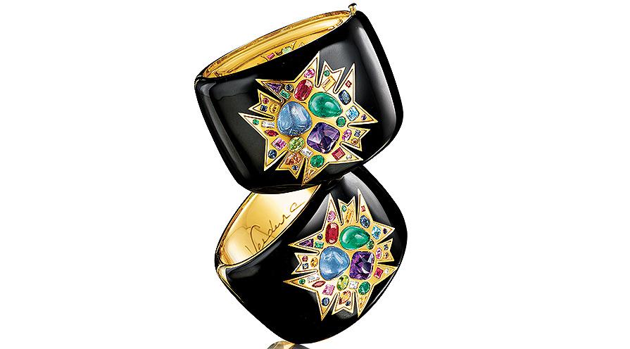 Theodora cuffs från Verdura.