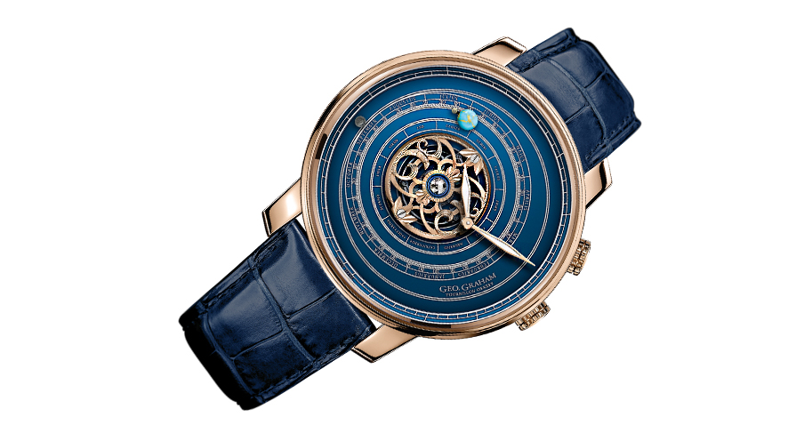 Geo. Graham Orrery Tourbillon från Graham.