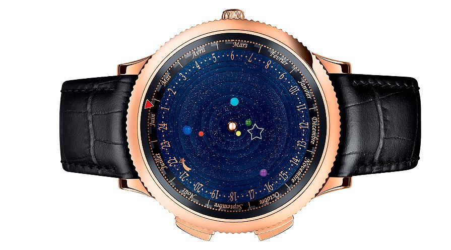 Midnight Planetarium, skapad av Christiaan van der Klaauw för Van Cleef & Arpels.