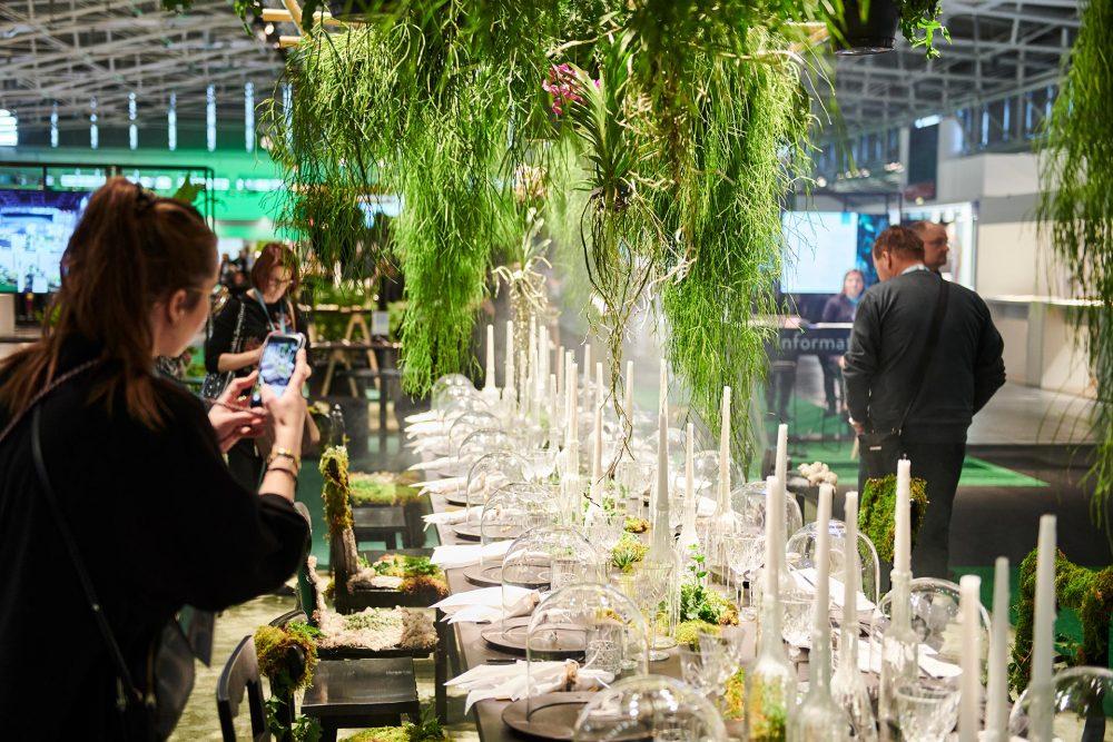Gräsgröna juveler dukas upp på Inhorgenta 2020
