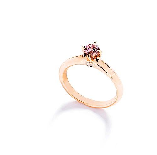 ring med rosa diamant från Hartmanns