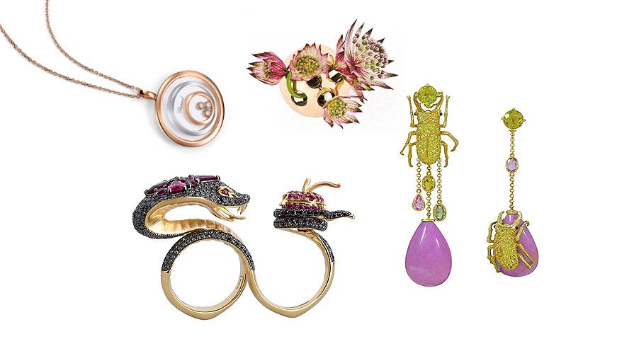 Lekfull smyckedesign