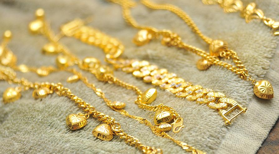 Armband i guld