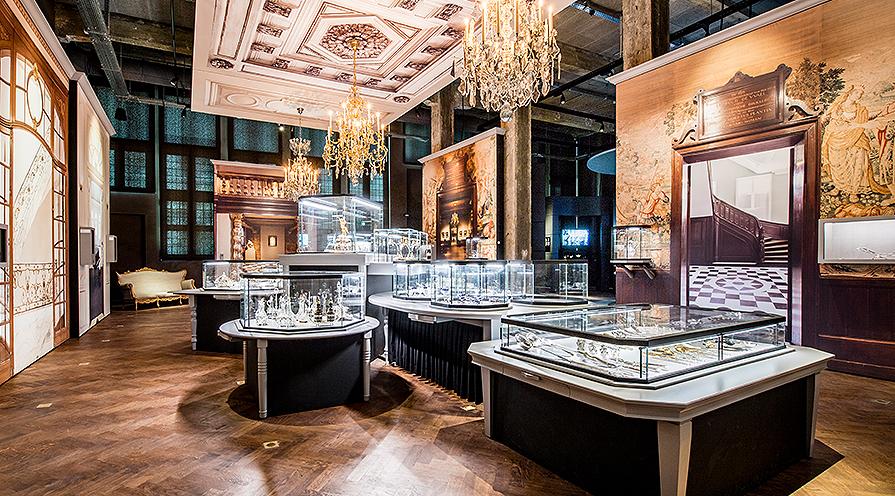 Ett måste i Antwerpen: Diamantmuseet DIVA.