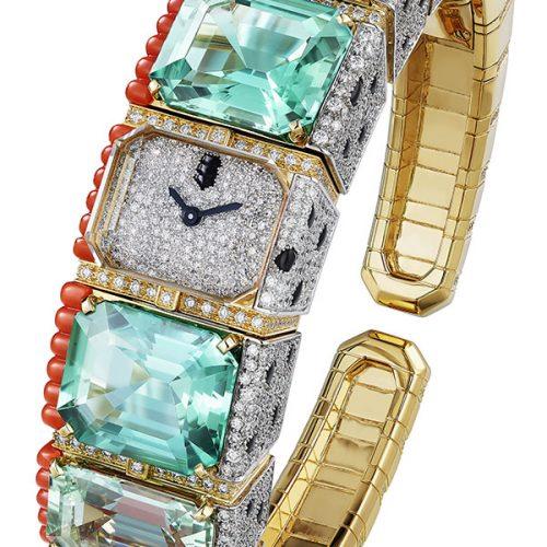 Cartier Panthère Tropicale wristwatch