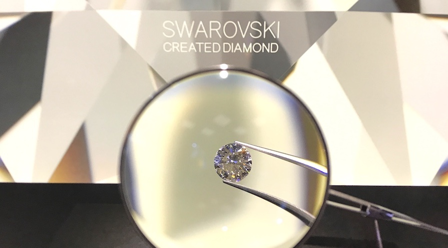 syntetisk diamant swarovski