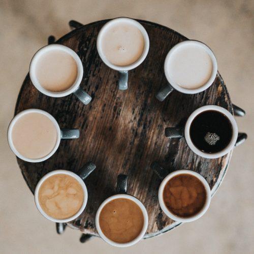 Kaffe i olika färger