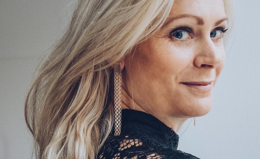 Örhänge remake av Annika Gustavsson är en smycketrend
