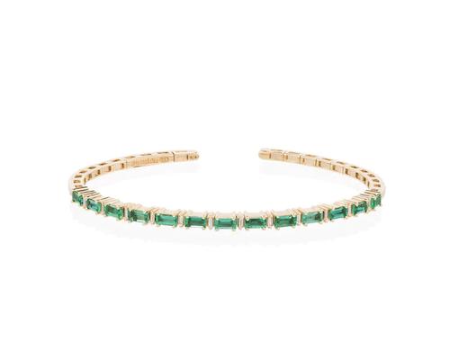 Smaragdarmband från Suzanne Kalan