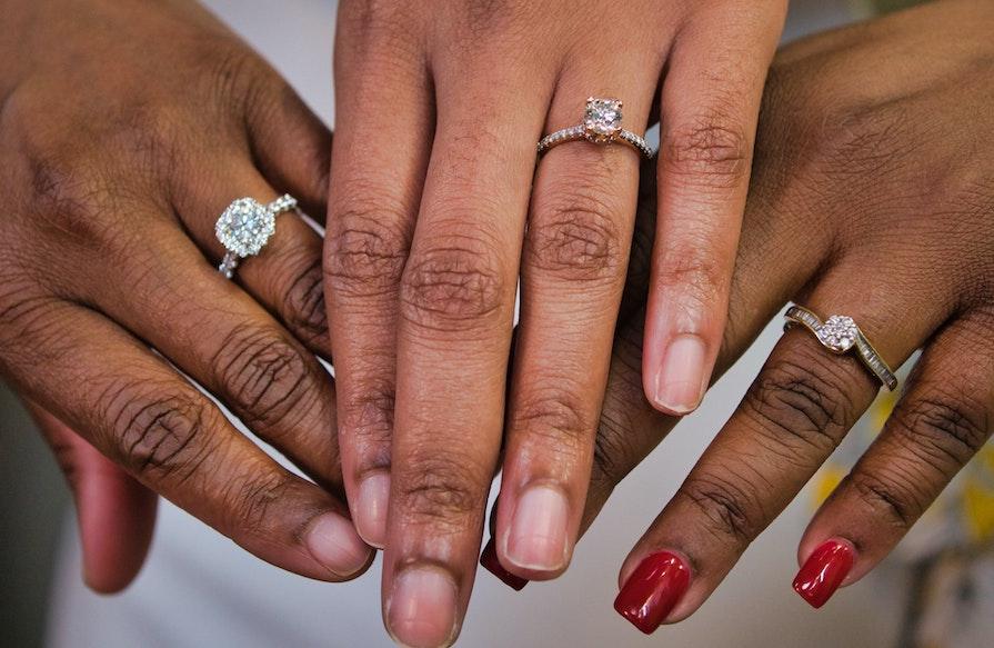 Diamanter i olika färger