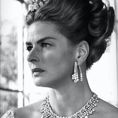 halsband av bulgari Ingrid Bergman the Visit