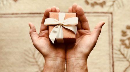 presentbox i hand