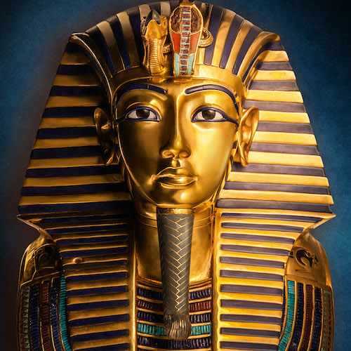 Tutankhamuns dödsmask