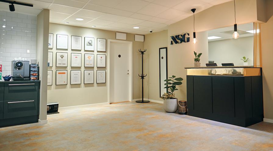nsg reception