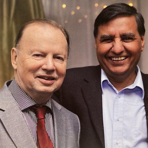 Axel och Harnek grundare av NSG