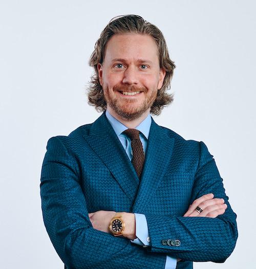 Fredrik Lichtenstein sälj- marknadschef nsg