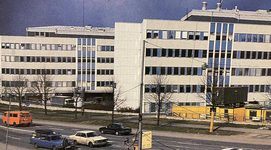 Rosenlundsgatan på 70-talet