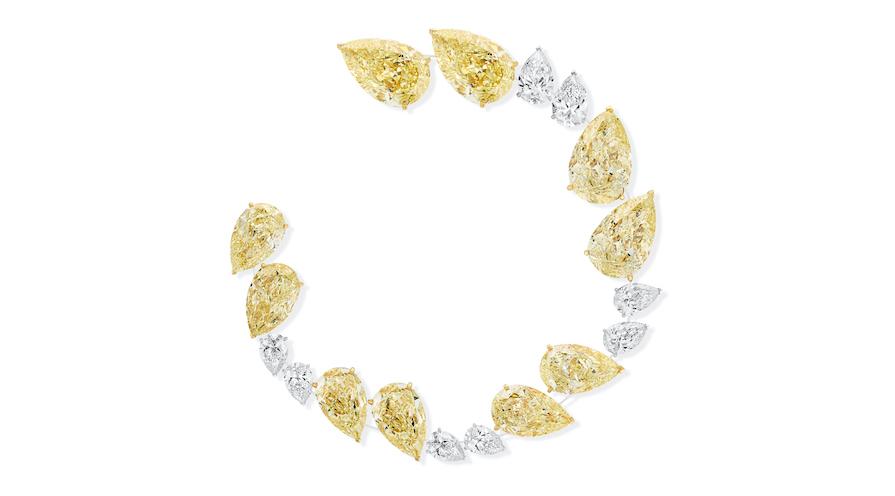 High jewelry från Messika Paris diamantarmband
