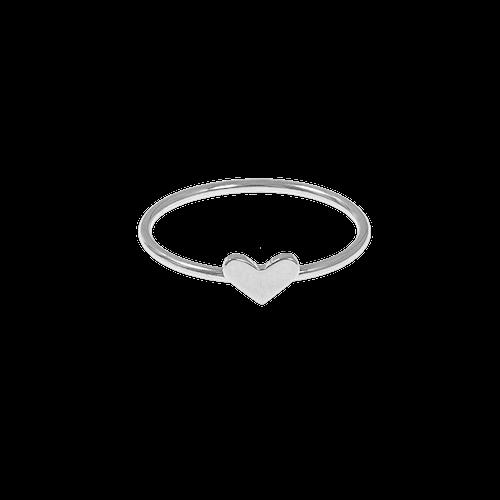 Silverring med hjärta från CU jewellery