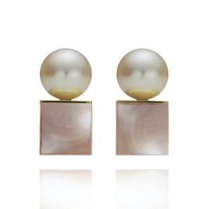 Örhängen med pärlor, smyckemode