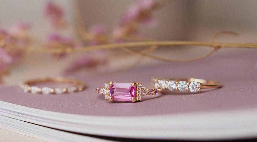 Ring med rosa safir i din smyckessamling