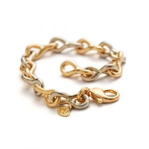 guldarmband av joans guld