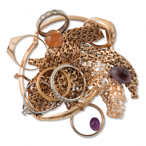 skrotguld omarbetning av smycken