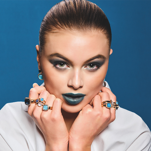 Färgglada smycken en trend på Vicenzaoro